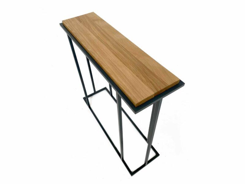Natural Oak Console Table