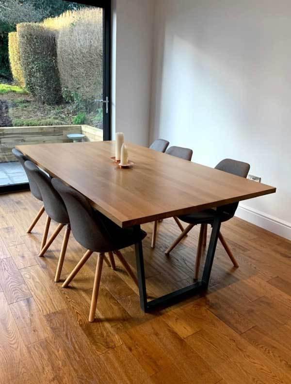 Bespoke Natural Oak Dining Table