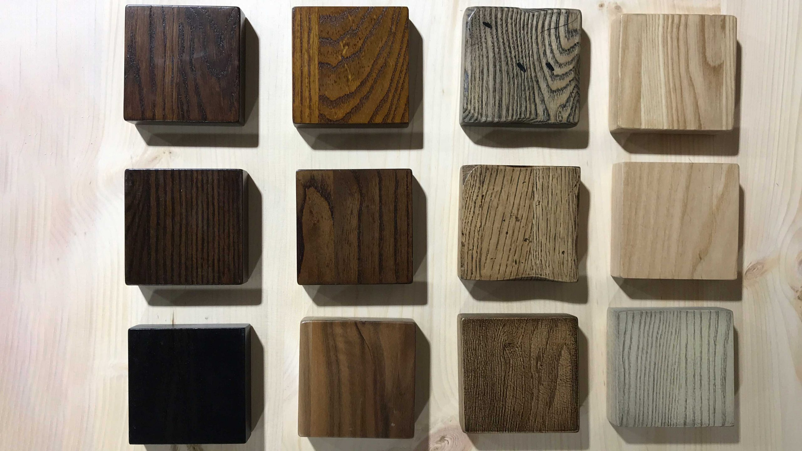 Grain and Frame Wood Stain Examples