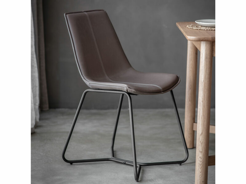 Michigan Taupe Dining Chair