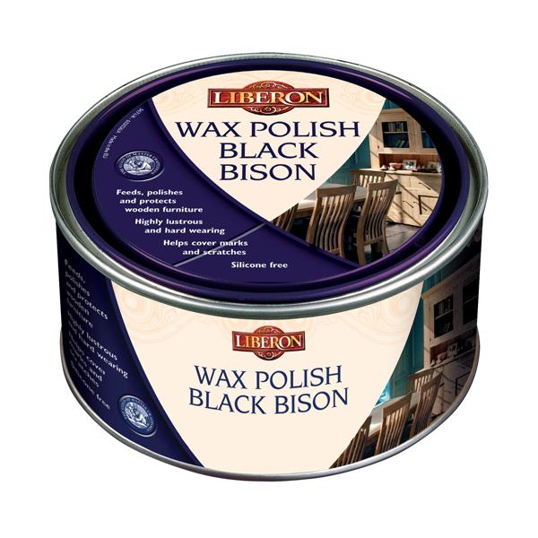 Liberon Wax Polish Paste Black Bison
