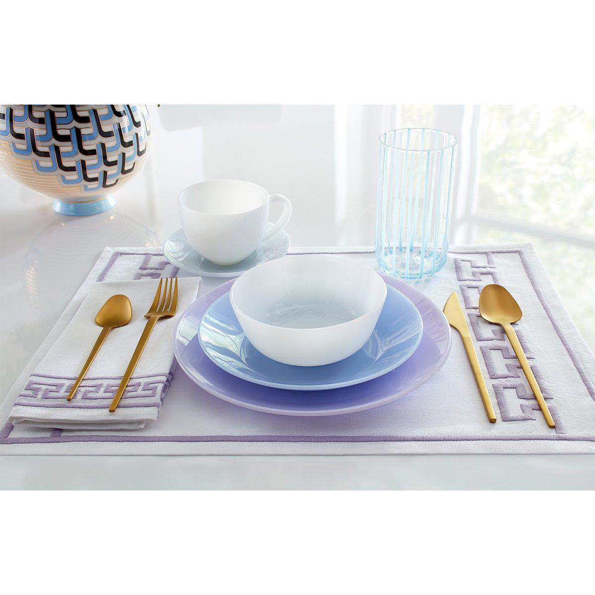 Dinner ware for breakfast